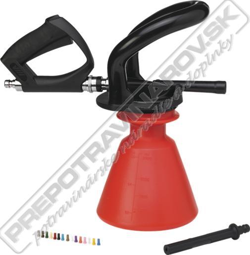 9301 Ergonomický penový postrekovač 2,5 l