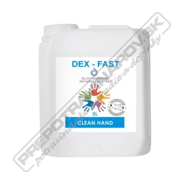 Gél na dezinfekciu rúk DEX - FAST