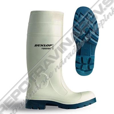 Pracovná obuv pre potravinárske prevádzky PUROFORT DUNLOP